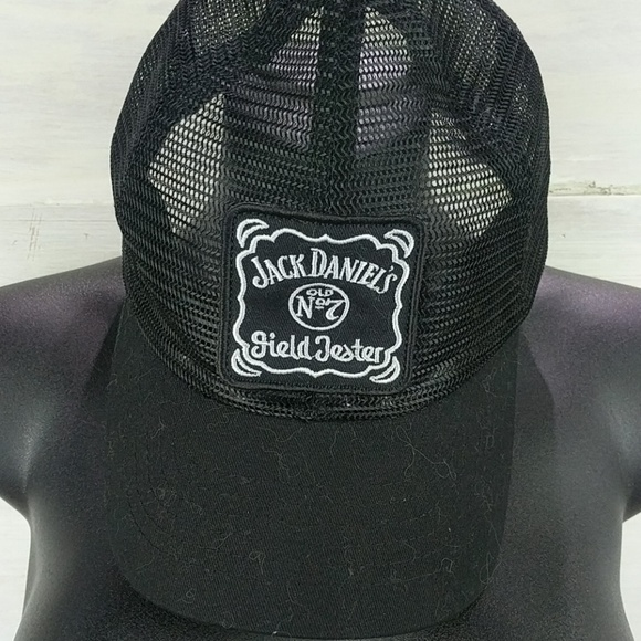 Jack Daniels Patched Hat w  Snap Back 3183bf56b32